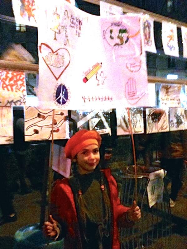 Exposition de rue FCPE Cavaignac et autres