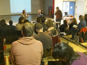 Samedi de l'Education FCPE 75 consacré à la grande pauvreté / Lycée François Villon / 75 Paris 14 / Région Ile-de-France