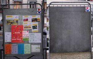 panneaux elections