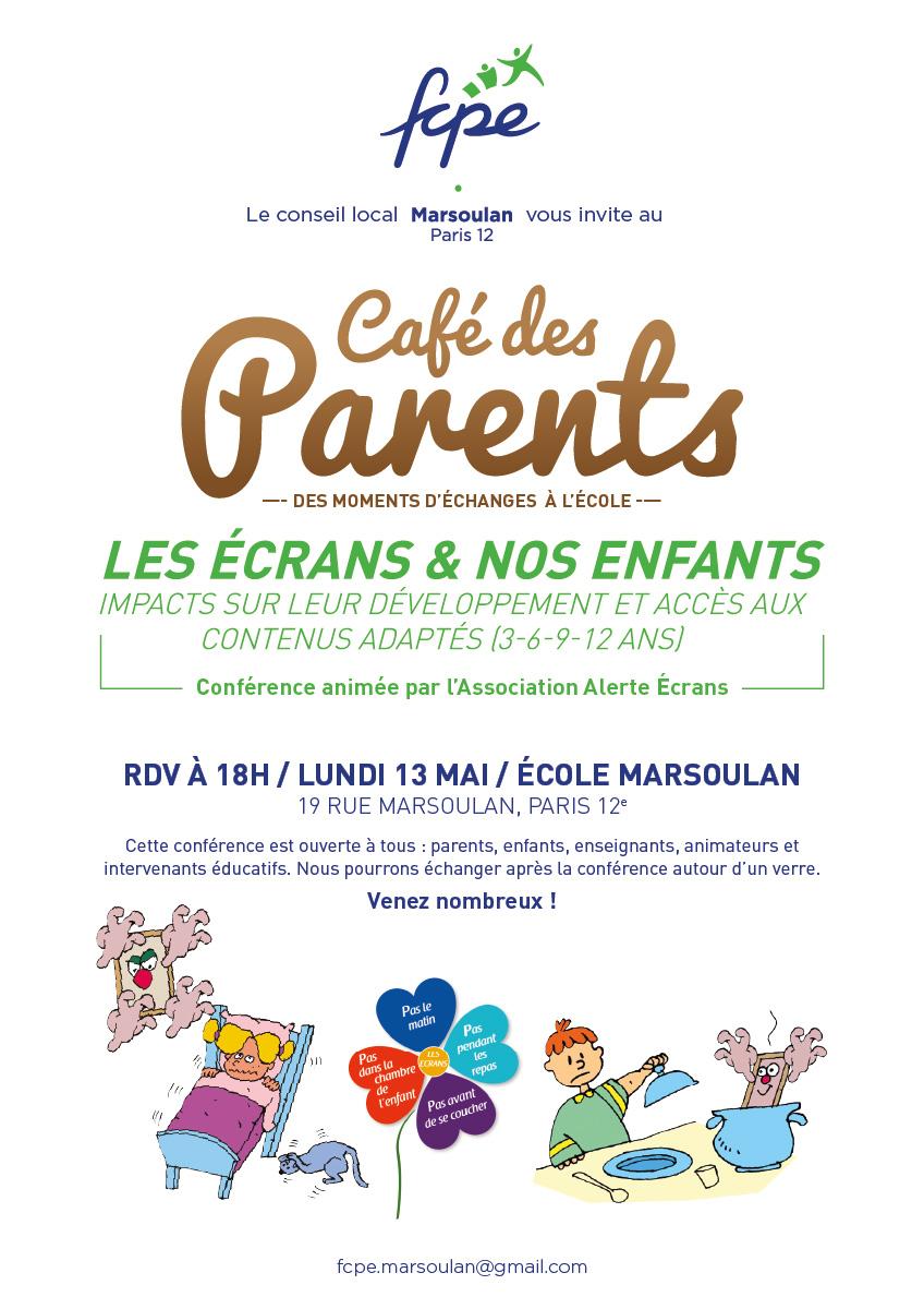Café des Parents | Les écrans & nos enfants